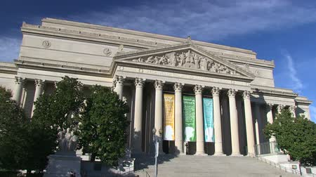 The National Archives and Records building in Washington, DC