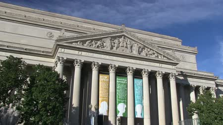 kolumna : The National Archives and Records building in Washington, DC