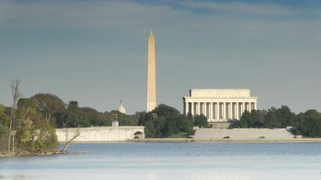 The Lincoln Memorial and Washington Monument in Washington, DC