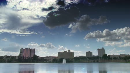 Time lapse of downtown Lakeland, Florida