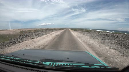Driving on Bonaire