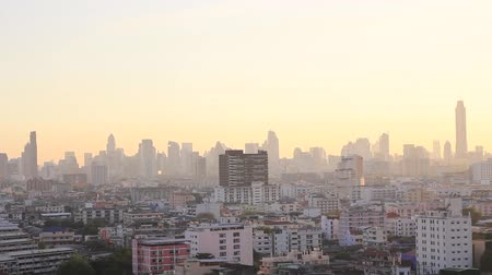 capital cities : Bangkok city in the evening