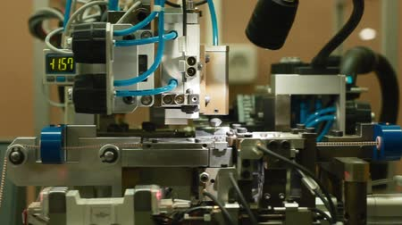 appraising : Jewelry factory Stock Footage