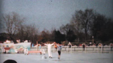 patenci : Scenes from an outdoor Figure Skating year end show including a vaudeville act in Philadelphia, Pennsylvania in 1962.