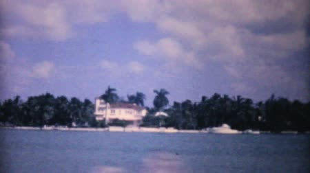 moře : A shot of the beautiful Florida Hotel with the ocean, beach and coast line in the background in 1961.