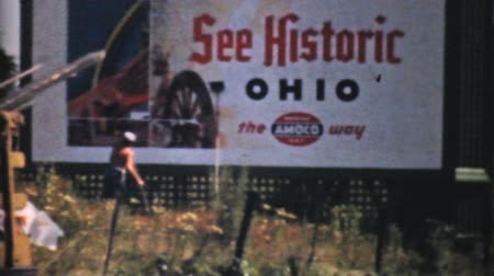 bilboard : Visiting historic Cleveland, Ohio on a trip across America in the summer of 1940.