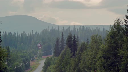 fülke : Swedish landscape. Mountains, forest, at least civilization in almost untouched nature