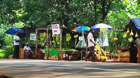 stragan : Small roadside market. Sell ??vegetables and fruits. Asia