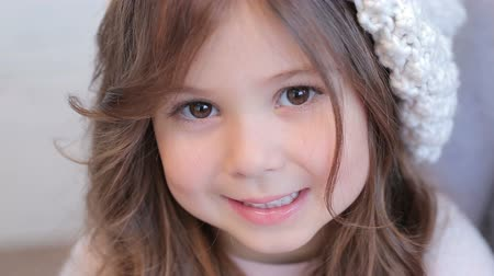 baby chubby : Young girl with beautiful eyes, unearthly beauty