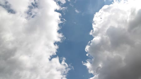 bulutluluk : Clouds in the blue sky time lapse