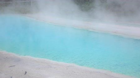 molas : Mineral geothermal water spring pool Stock Footage