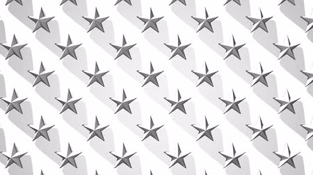 consecutivo : White Stars Abstract_Loop