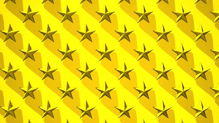 consecutivo : Yellow Stars Abstract_Loop Stock Footage