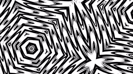 Psychedelic abstract kaleidoscope. Loopable animation for background.