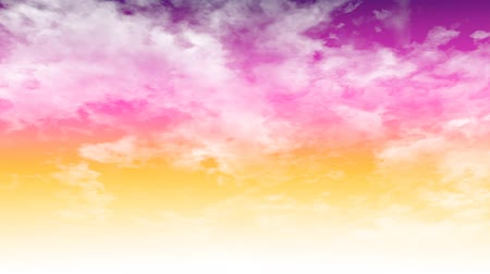 Purple sky and white cloud background.