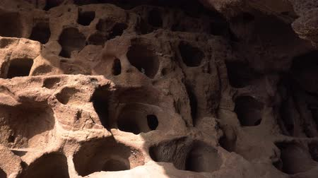 archeological : Cenobio de Valeron, archeological site, aboriginal caves in Grand Canary, Canary islands.
