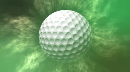 Golfball-Bewegungshintergrund Videos