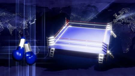 wrestling ring motion background