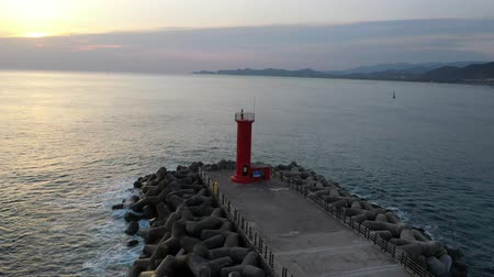 dalgakıran : a lighthouse filmed with a drone