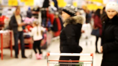 супермаркет : people in the supermarket,  trade, score , shop