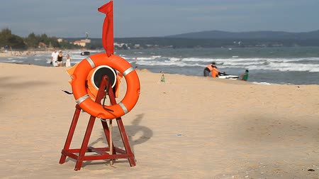 lifebuoy : rest on the coast and safety of tourists