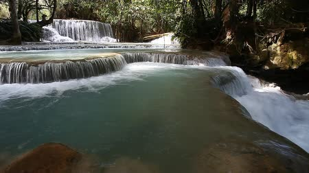 Tad Kuang Si Waterfall - interesting place in Luang Prabang,Laos