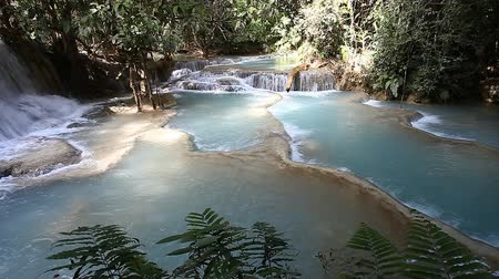 estrondo : Tad Kuang Si Waterfall - interesting place in Luang Prabang,Laos