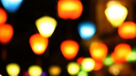 hoi an : Tourist Vietnam, Hoi An and paper lanterns Stock Footage