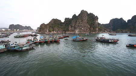 ha : Halong Bay in Vietnam.Beautiful Landscape Marine