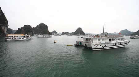 HALONG IN VIETNAM - AWESOME CREATION OF NATURE