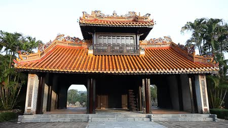династия : Vietnam.Tomb of the Emperor Tu-Duk in Hue the UNESCO heritage