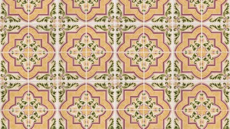 papel de parede : Seamless tile pattern of ancient ceramic tiles.
