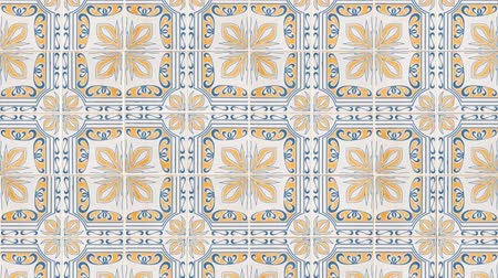 mosaico : Seamless tile pattern of ancient ceramic tiles.