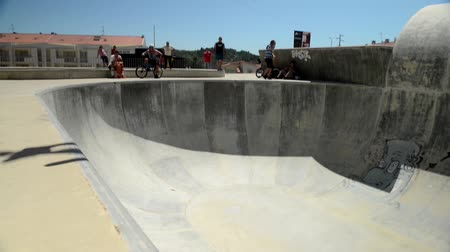 adrenalin : BELMONTE, PORTUGAL - JULY 12, 2014: Daniel Penafiel from Spain during the The Lost Bowl Event.
