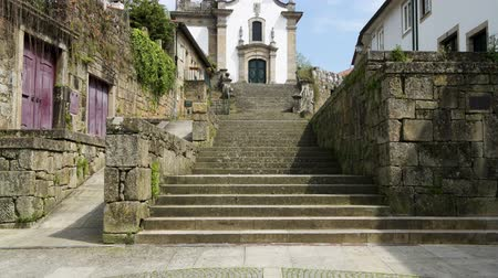 lima : Pereiras Chapel  in the historical center of Ponte de Lima Portugal
