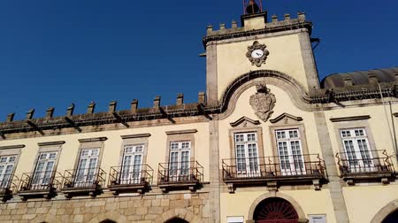zajímavosti : BARCELOS, PORTUGAL - CIRCA JAUARY 2019: View at the City hall in Barcelos. It is one of the growing municipalities in the country.