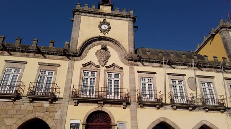 points of interest : BARCELOS, PORTUGAL - CIRCA JAUARY 2019: View at the City hall in Barcelos. It is one of the growing municipalities in the country.