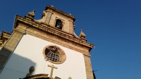 points of interest : Church Bom Jesus da Cruz in Barcelos. With 60 parishes, it is the municipality with the highest number of parishes in the country. Stock Footage