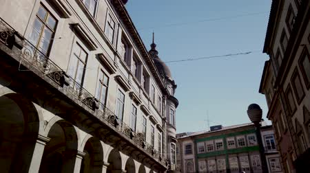 piskopos : BRAGA, PORTUGAL - CIRCA FEBRUARY 2019: Streets leading to Se de Braga, rear Braga, Portugal.