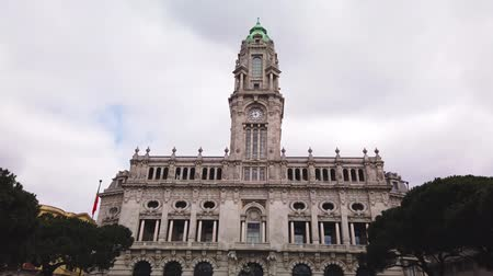 iberian : City hall of Porto, Portugal.