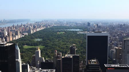 центральный : An Aerial view of Central Park, New York