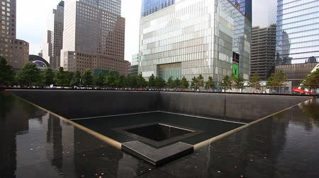 new world : A view of the 911 Memorial, New York