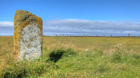 arqueológico : A view of the Ring of Brodgar in Orkney