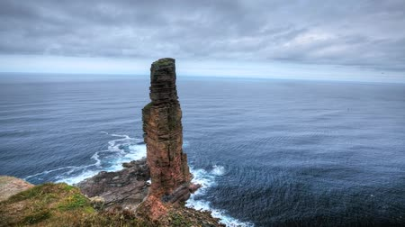 sütun : A timelapse of the Old Man of Hoy, Orkney, Scotland