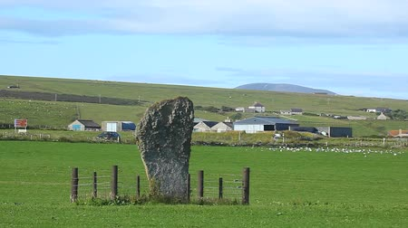 archeologický : The Barnstone, a neolithic monument from orkney