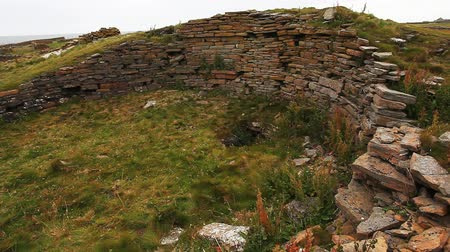 arqueológico : The Broch Of Burrian, Orkney, Scotland