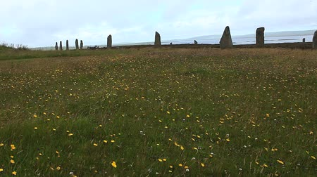 arqueológico : The Ring of Brodgar in Orkney found in Scotland