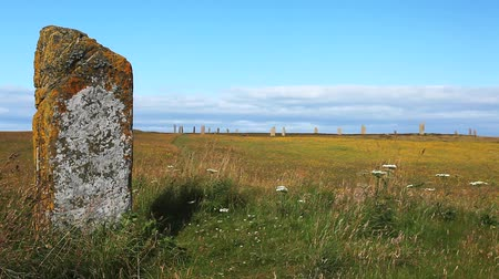 arqueológico : Ring of Brodgar in Orkney, Scotland