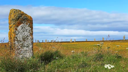 arqueológico : The Ring of Brodgar in Orkney, Scotland