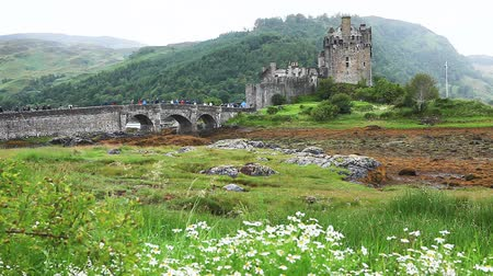 felvidéki : Eileen Donan Castle, a beautiful castle found in  in Scotland